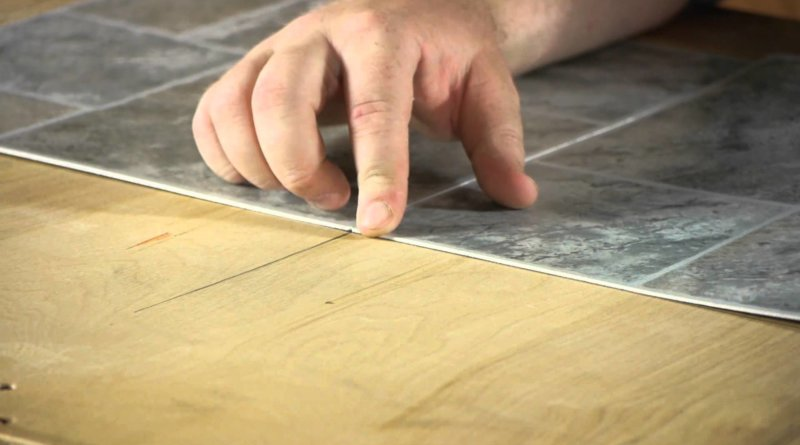 How to install self adhesive vinyl floor tiles