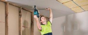 Потолок из гипсокартона - установка профилей и монтаж