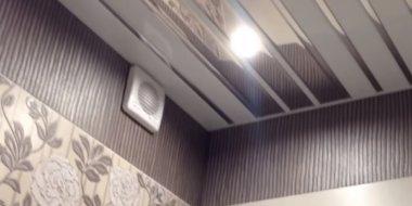 алюминиевая вагонка на потолок