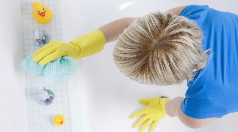 очистка ванной