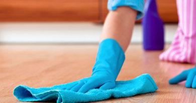 чем отмыть пол
