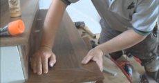 обшивка лестницы ламинатом