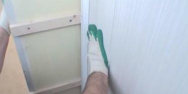 монтаж вагонки в ванной
